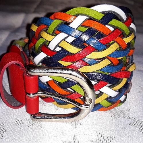 Large Leather Belt (Multi.)