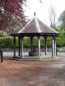 Bandstand in Ashford in the Water.
