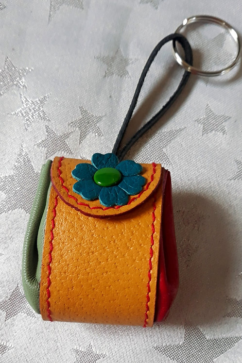 Pouch Keyring (Yellow)