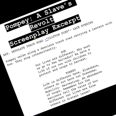 Pompey: A Slave's Revolt Screenplay Excerpt