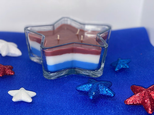 Two-Scented 4th of July Candle