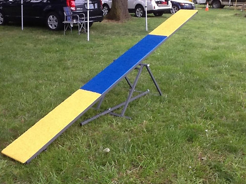 Teeter - Competition 12' With Adjustable Base (Sprinkle Rubber Surface)