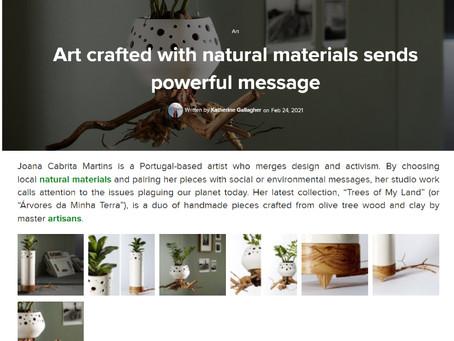 ´Árvores da Minha Terra - Natureza Morta´  nova colecção de Design JCM em destaque na InHabitat!