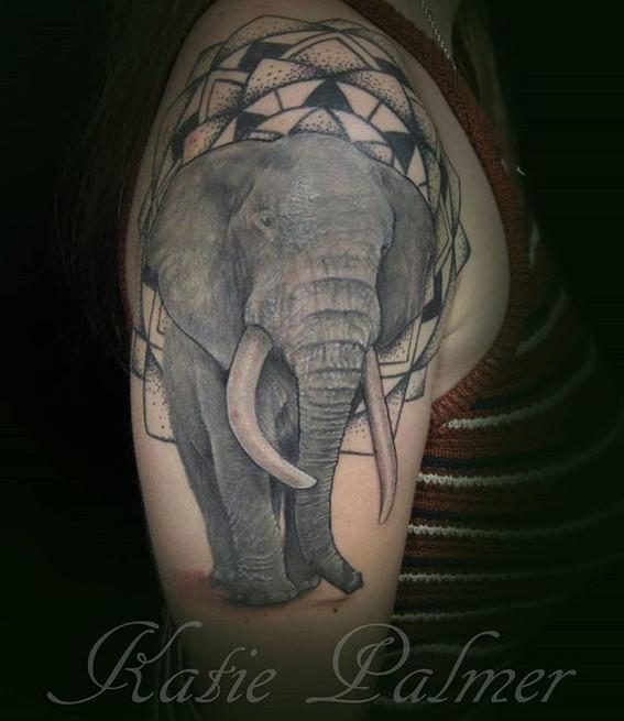 Elephant mandala_Books now open. Half da