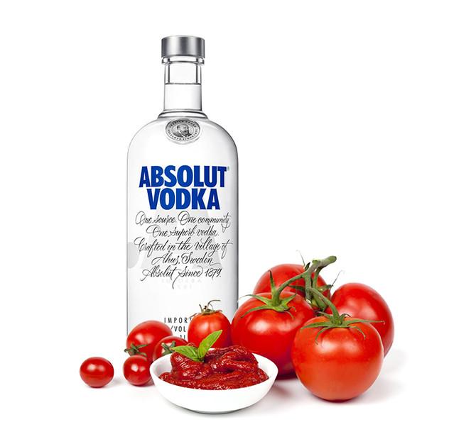 Molho de Tomate com Vodca