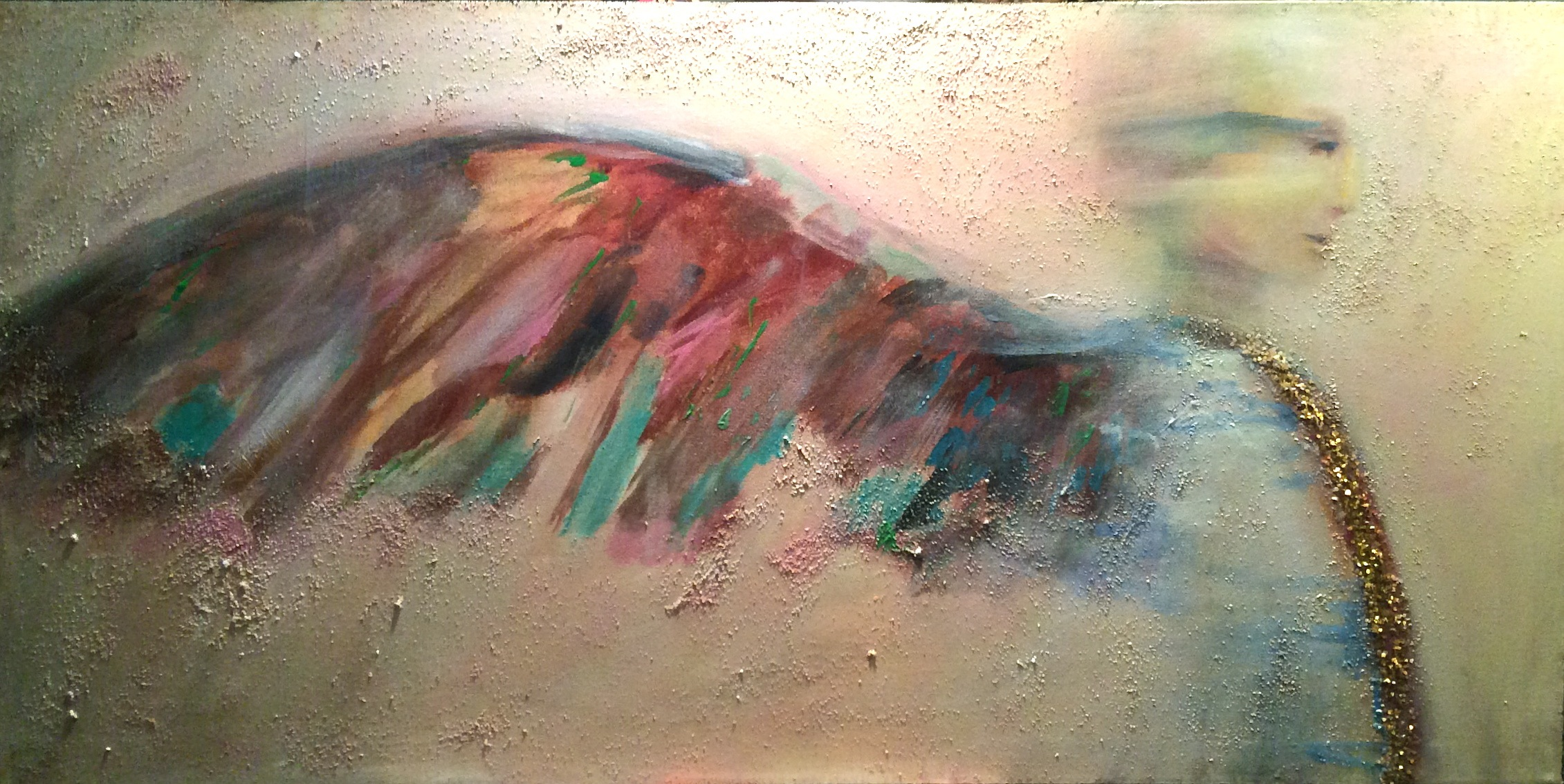 "Flash Angel - 24"" x 48"""
