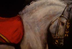"Emperor's Horse - 36"" x 60"""
