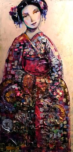 Kimono. 24 x 48