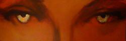 "Centered eyes - 72"" x 24"""