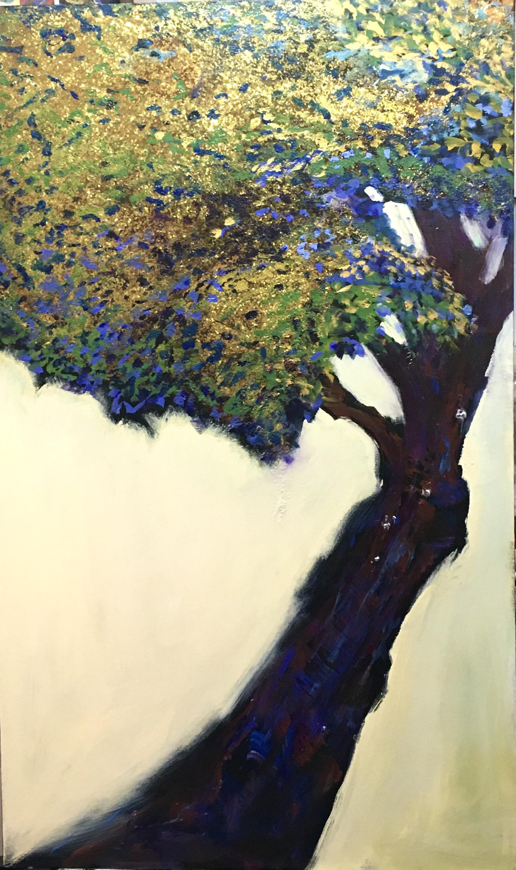 ROMAN TREE 36 X 60 inches.