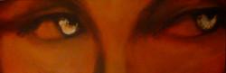 "Eyes Left - 72"" x 24"""