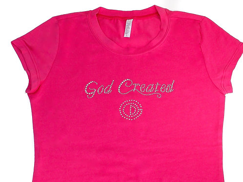 God Created Ladies T-Shirt