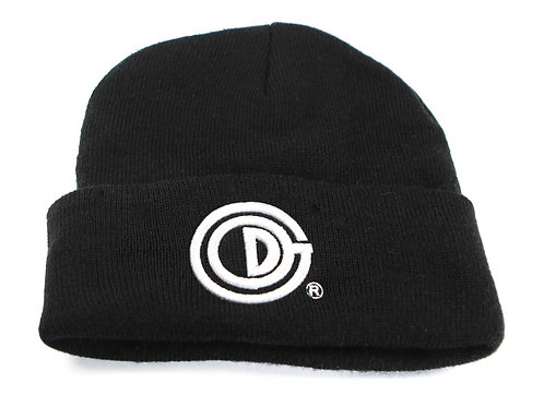 God Created Beanie - Black