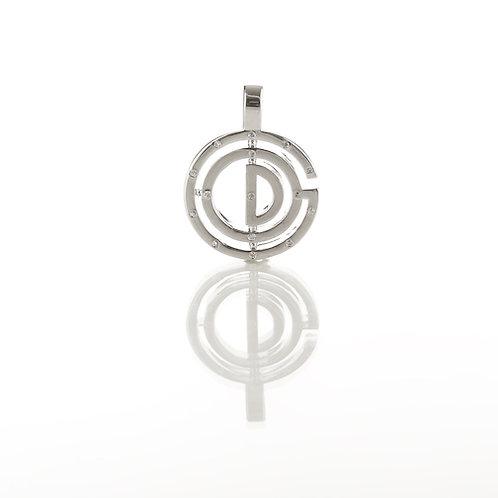 15 Stone Sterling Silver Bezel Pendants