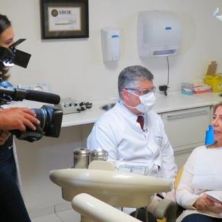 """Gravação Entrevista Rede Record """"Medo de dentista""""agosto 2017"""