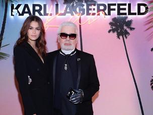 KARL LAGERFELD & KAIA GERBER PARTY IN PARIS #KarlxKaia