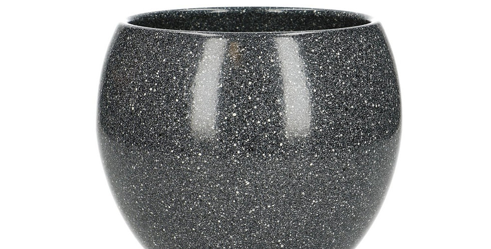 Ceramics Ball pot d12.5/15*13cm