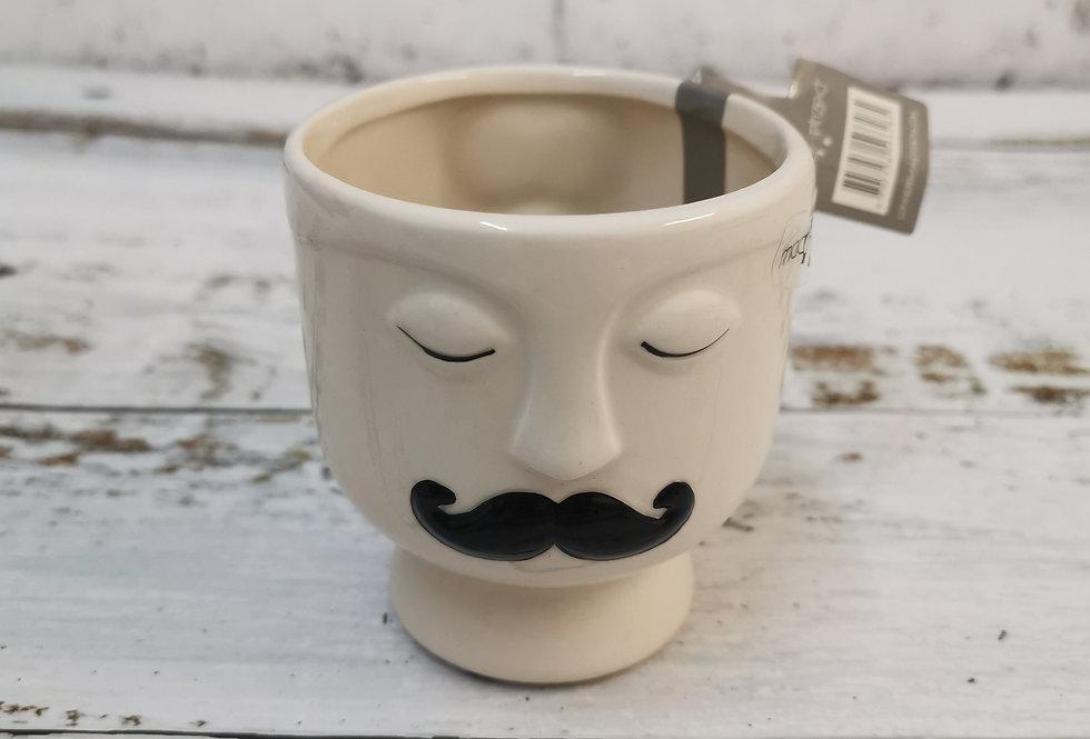 Magnetic ceramic pot