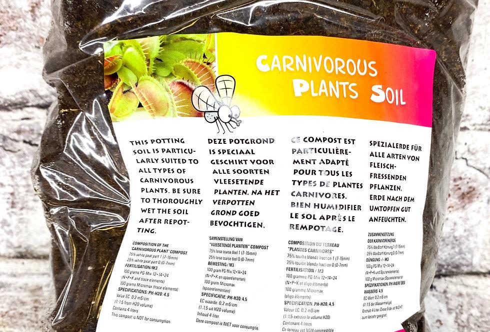 Carnivorous plants soil 4l