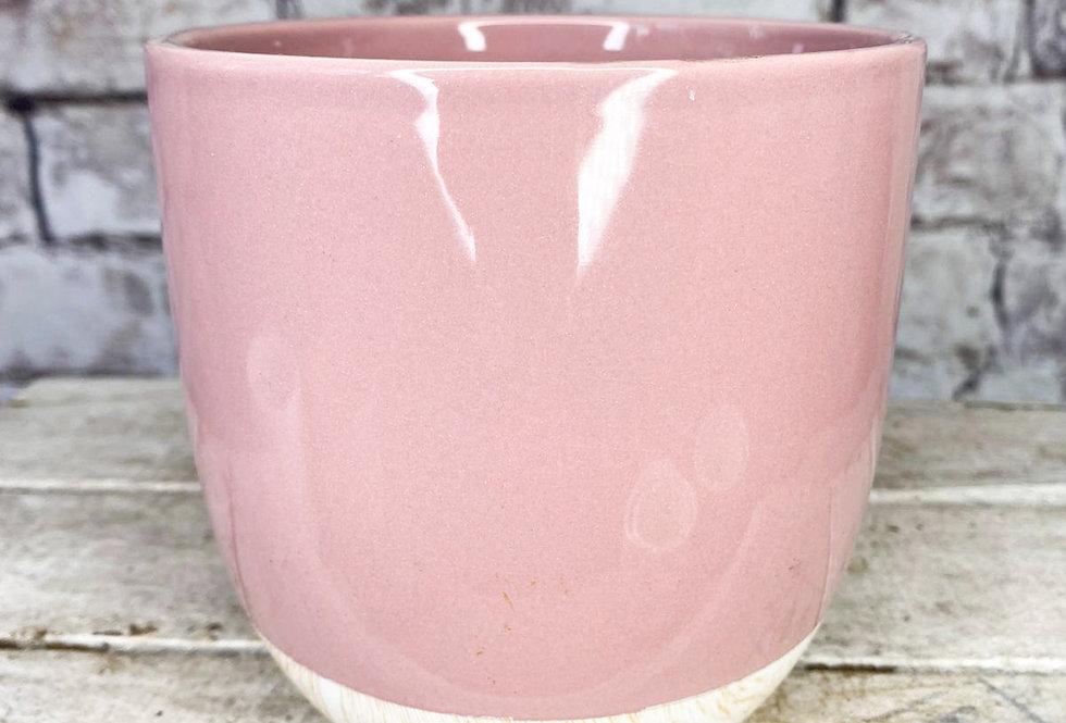 Pink Emily  Shiny pot 12cm