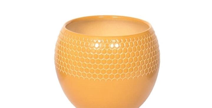 Deco Pot Keli yellow 12Ø 20cm