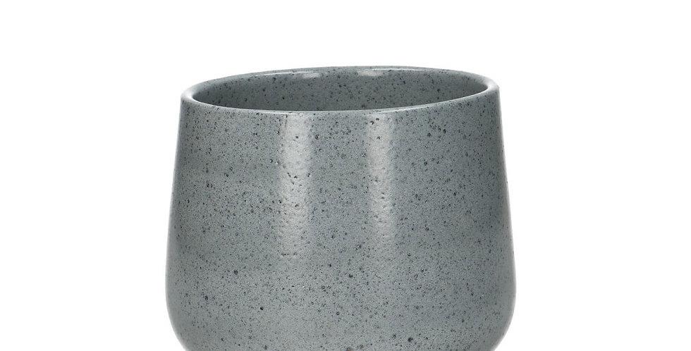 Ceramics Rimini pot d12*11.5cm