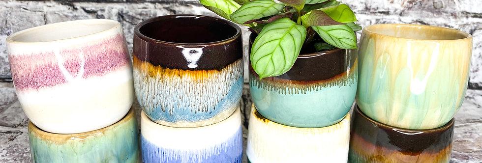 Marble mini pots