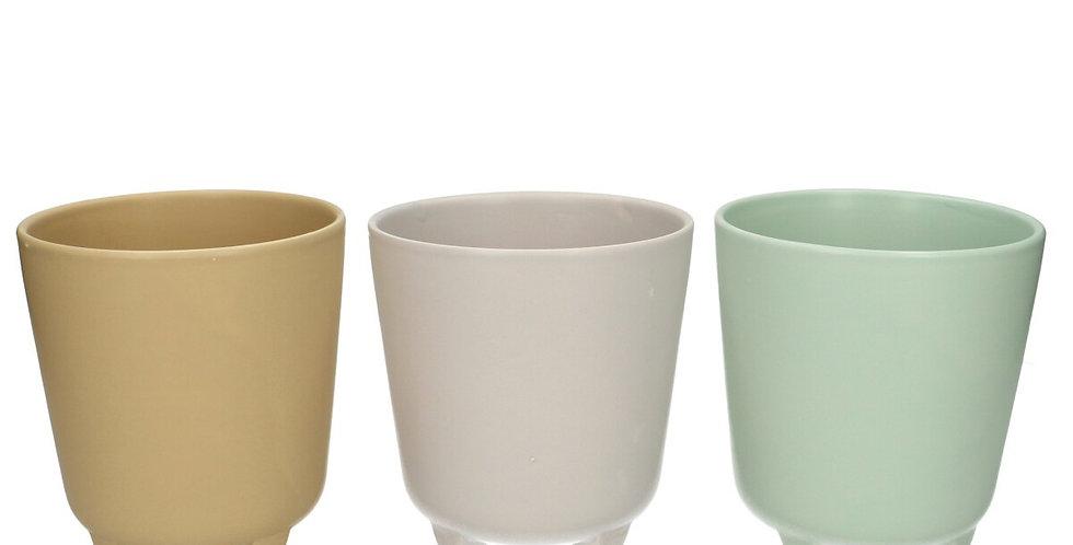 Ceramics Pot Feet d12*5*11cm