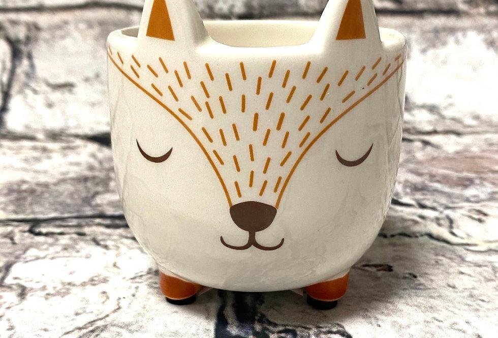 Fox - small pot