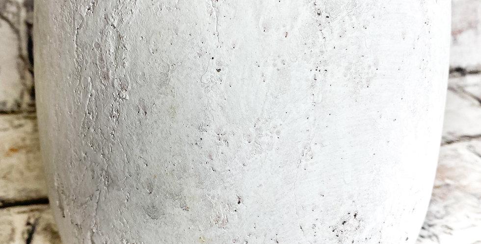 Pot Amber light grey 14cm