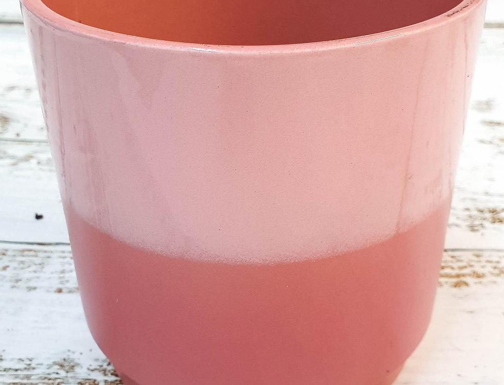 Juliette shiny/mat pink