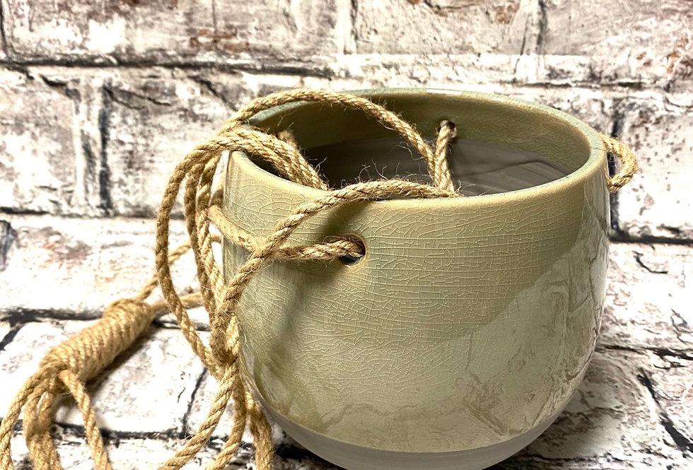 hanging ceramic pot 15cm
