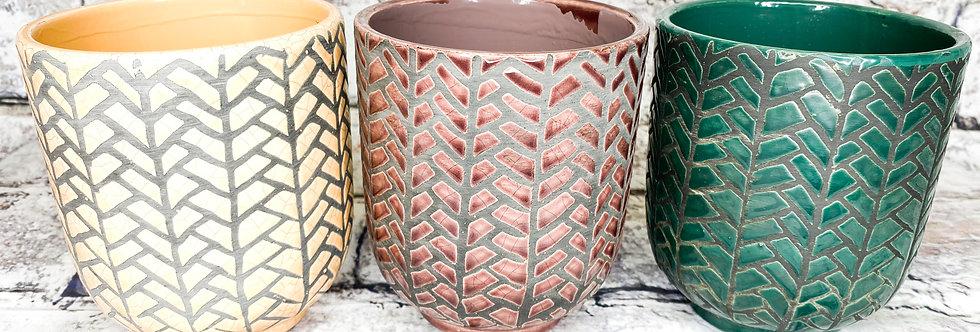 Herrining Ceramic Pot d9
