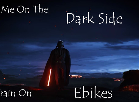 Why I joined the Dark Side - Ebikes