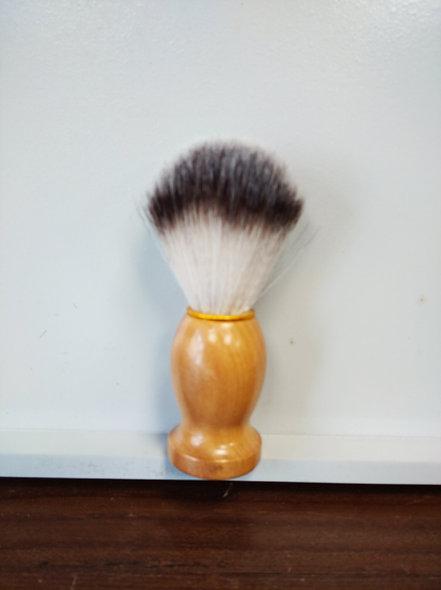 Blaireau bois poils synthétiques