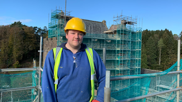 Interview with Connor Prentice, who had just completed his apprenticeship with CBC.