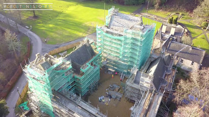 Video footage of CBC's Dean Castle Restoration and Conservation Project.