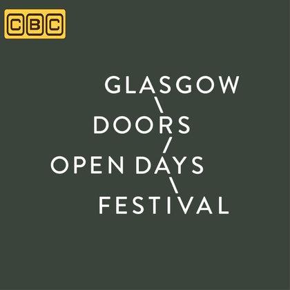 Concept art for 'Glasgow Doors Open Days Festival'