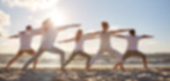 Yoga on Beach