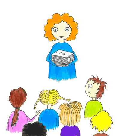 Digital praksisfortelling - Utenomfaglig aktivitet i klasserommet