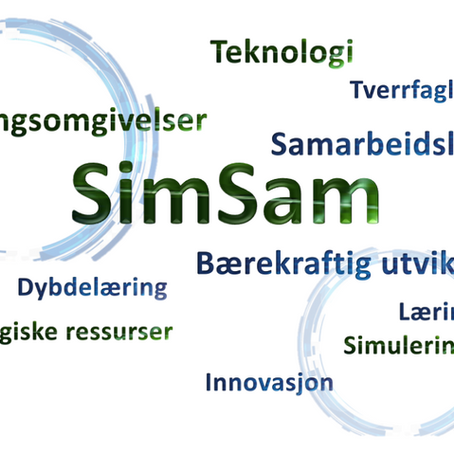 Et bærekraftig prosjekt og SimSam som læringsomgivelse