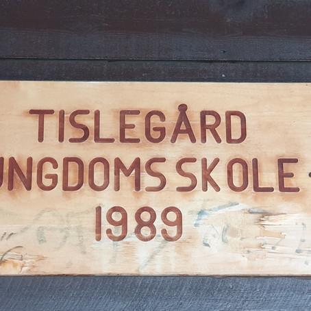En historisk time i 8. klasse på Tislegård ungdomsskole