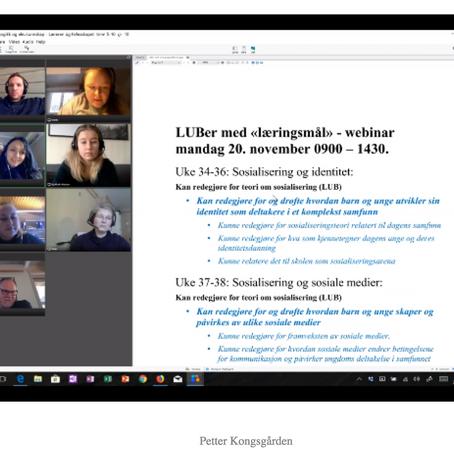 Praksisfellesskap (Web 2.0): Studenterfaringar og vyar frå Kongsgårdens PEL
