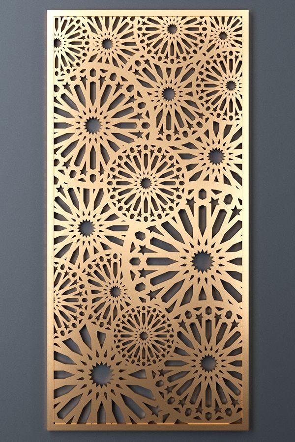 Decorative panel 195