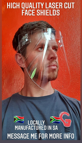PVC Face Shields