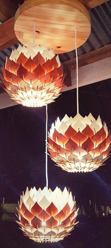 Mini Protea Chandelier