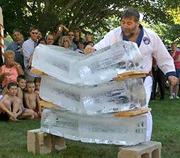 Grandmaster Charles Ferraro Ice Break Demonstration