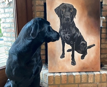 Tipper off the easel