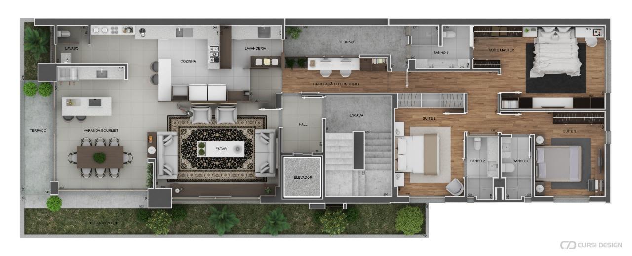 Planta Baixa - Apartamentos
