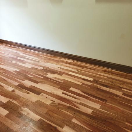 Teak Floor Refurbishment